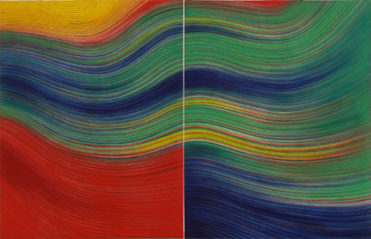 IGNACIO TOVAR. Diego del Gastor, 2005. 195 x 300 cm. Pigmento y látex vinílico sobre tela