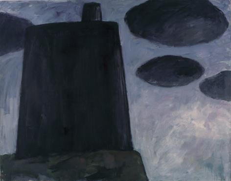 IGNACIO TOVAR. S/T, 1985. Acrílico sobre lienzo. 149,5 x 190,4 x 2,8 cm