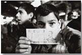 Ahmad, 13 ans, souk de Mossoul, nord de l'Irak, mars 2002 © Dalia Khamissy