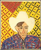 RAFAEL AGREDANO. Avignon Guy 2, 1996. Óleo sobre lienzo. Colección Bank of America Merrill Lynch