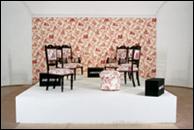 RENÉE GREEN. Mise en Scène, Commemorative Toile, 1993. Photo: J. Koinegg, Neue Galerie Graz