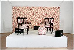 RENÉE GREEN. Mise en Scène, Commemorative Toile, 1993. Fotografía de J. Koinegg, Neue Galerie Graz