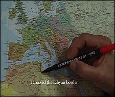 Bouchra Khalili. The Mapping Journey Project,#2, 2008 © Bouchra Khalili - Galerie Polaris, París