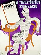 GEORG (ADLER,GYÖRGY). Esti Kuír (periódico vespertino) [1936]. 125 x 95 cm.