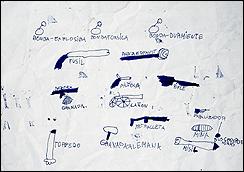 Jacobo Castellano. Sin título, 2007. Tinta sobre papel. Colección del artista.