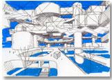 Ville spatiale, Yona Friedman