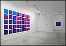 Vista de sala de la exposición Paloma Gámez. Violeta. Fotografía: Guillermo Mendo