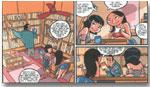 """Imágenes del comic """"Anarquitectura, Diseño y Sabotaje"""" (2004), José Luis Agreda, Juan Rojas y Laura Domínguez"""
