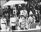 Independence Day 1936 - 1967. Julius Nyerere antes de su discurso, 9 de diciembre 1961 Tanzania