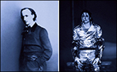 Lorraine O'Grady. The First and Last of the Modernists, Diptych 3 Blue (Charles and Michael) 2010. Fujiflex Print. Courtesy Alexander Gray Associates, New York � 2014 Lorraine O'Grady/ Artists Rights Society (ARS), New York