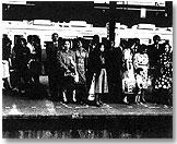 "Daido Moriyama: ""Plattform"", B & W Print, 1977"