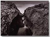 Thomas Joshua Cooper: El Atlántico Central Punta Norte (El punto más septentrional de la isla) El Hierro, Islas Canarias, España, 2002. Fotografía