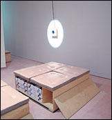 Stephen Prina:  The Second Sentence of Everything I Read Is You: SOMA Electronic Music Studios, 2008. Instalación, dimensiones variables