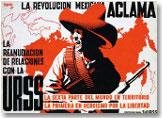 """Josep Renau: """"La Revolución Mexicana aclama la reanudación de relaciones con la URSS"""" (1942)"""