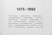 Recorrido fotográfico por la exposición 1975 - 1992