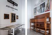 Recorrido fotográfico por la exposición Jos� Ram�n Sierra. Zigzag
