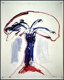 """Nancy Spero: """"Female Bomb"""" (1966)"""