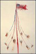 "Nancy Spero: ""Kill Commies. Maypole"" (1967)"