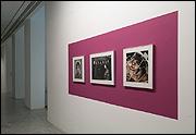 Vista de sala de la exposición 'Las dos orillas de Agnès Varda'