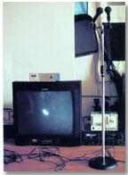 """Nam-June Paik: """"Participation TV"""", 1969. Instalación interactiva de video"""