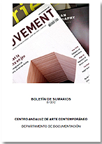 Portada del nº01/2012 del Boletín de Sumarios