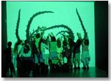 Imagen de la exposición BIOS4. Arte biotecnológico y ambiental. Mark Cypher (2007)