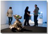 Imagen de la exposición BIOS4. Arte biotecnológico y ambiental. France Cadet y Andy Gracie (2007)
