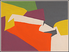 EQUIPO 57. Interactividad cine I (Interactivity Film I), 1957. 24 gouaches sobre papel. 33,5 x 49,5 cm c/u