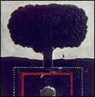JOSÉ RAMÓN SIERRA. Sin título (arbolito). 50 x 50 cm. 1969