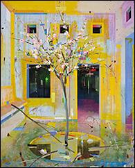 Alfonso Albacete. Trampa, 2009. Acrílico sobre lienzo. 250 x 200 cm. Fundación Helga de Alvear, Madrid / Cáceres, España