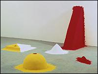 ANISH KAPOOR. 1000 Names (1000 Nombres). 1981 (Colección Museo Nacional Centro de Arte Reina Sofía. Madrid)