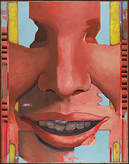 LUIS GORDILLO. Gran Cabeza. 1965. Oleo sobre lienzo. Colección CAAC