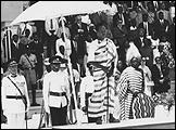 MARYAM JAFRI. Independence Day 1936 - 1967. Julius Nyerere antes de su discurso, 9 de diciembre 1961. Tanzania