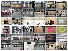 Oliver Ressler. 'Sin título (Edingburgh 7/2005)', serie 'Globalizing Protest', 2005
