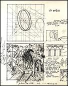 EVA LOOTZ. Untitled, Untitled, Black ink drawing on paper (Separata nº 4. Spring 1980)