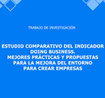3070 Estudio comparativo del indicador Doing Business