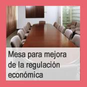 Mesa de mejora de la regulación económica