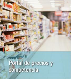 Portal de precios y competencia