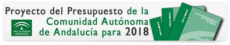 Proyecto del Presupuesto de la Comunidad Autónoma de Andalucía para 2018