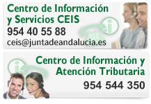 Centro de Información y Servicios y Centro de Información y Atención Tributaria:
