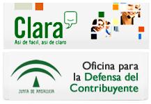 Plataforma de Relación con la Ciudadanía Andaluza. Clara y Oficina para la Defensa del Contribuyente