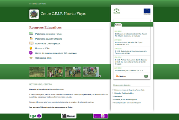 El Centro de Gestión Avanzado lanza el nuevo Portal de Recursos Educativos