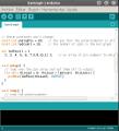Guadalinex EDU. Nueva actualización del Entorno de Desarrollo de Arduino.