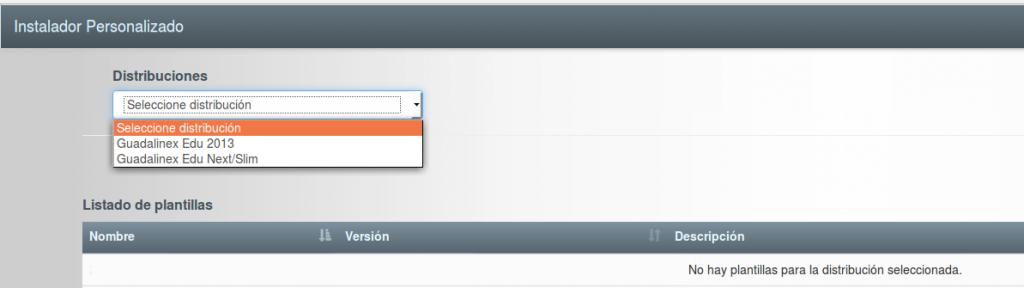 Instalador personalizado de Guadalinex Edu.