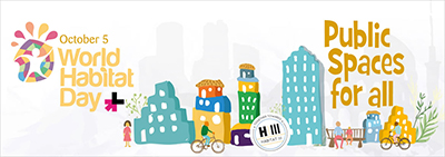 Enlace a Día Mundial del Hábitat | 5 octubre 2015