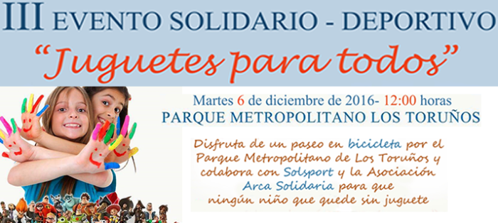 Campaña solidaria de recogida de juguetes en los Toruños