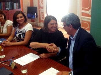 La Junta y el Ayuntamiento mejorarán los accesos y la seguridad de los caminos escolares de Mairena del Aljarafe