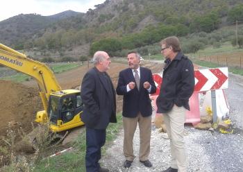La Junta inicia obras para eliminar deslizamientos y renovar el firme en la A-7078 con una inversión de casi 200.000 euros