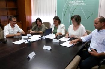 Junta y ayuntamientos de Córdoba emprenden la transformación urbana de municipios para devolver espacios públicos al peatón