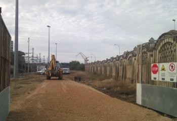 La Junta inicia las obras de la nueva estación de autobuses de Cádiz situada en los terrenos de Adif de la Plaza de Sevilla